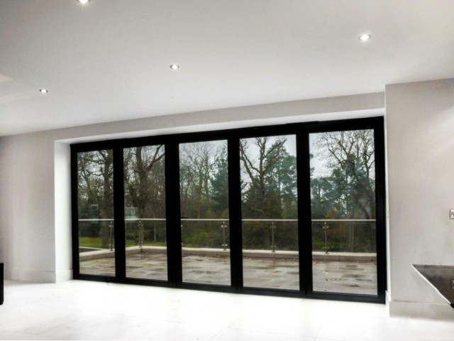 Bi-folding doors from Window Wise