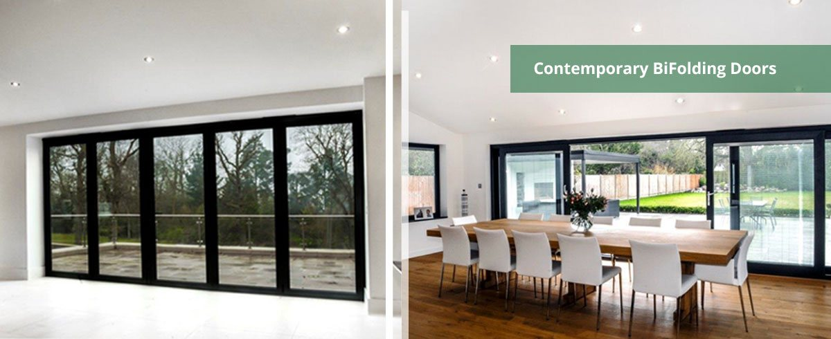 Contempory Bifolding Doors