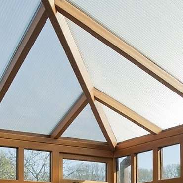 Discover our collection of orangeries and conservatories