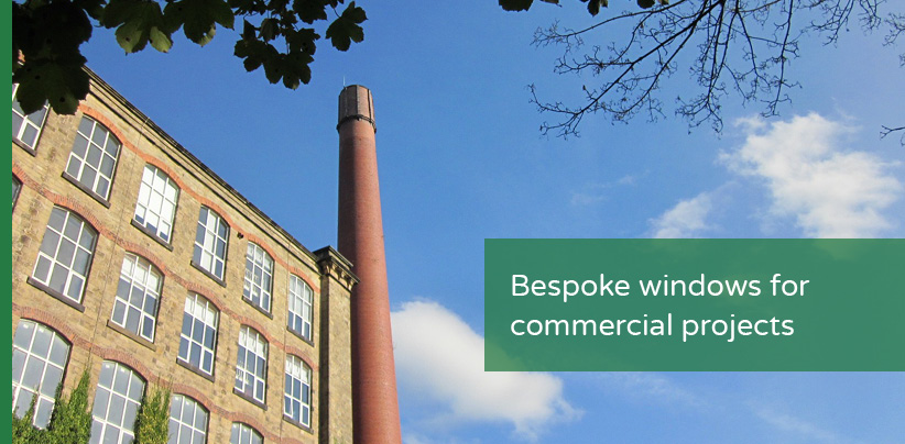 Bespoke windows for commercial projects