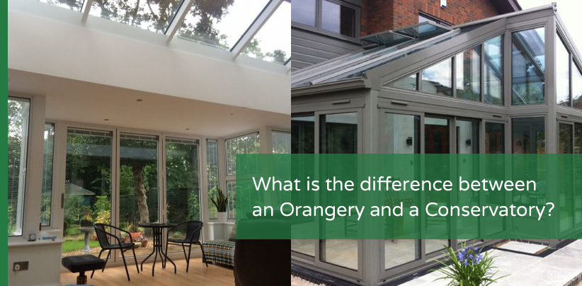 What is the difference between an Orangery and Conservatory?