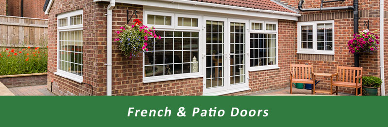 View our range of French & Patio Doors